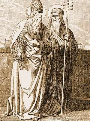 San Cayo y San Sotero, Papas mártires