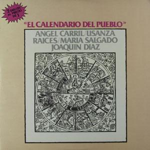 Calendario Del 1977.Joaquin Diaz Obra Completa Canciones