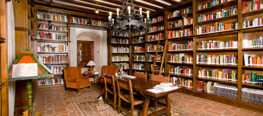 Fundación Joaquín Díaz - Biblioteca