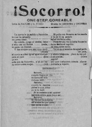 ¡SOCORRO! One-step coreable